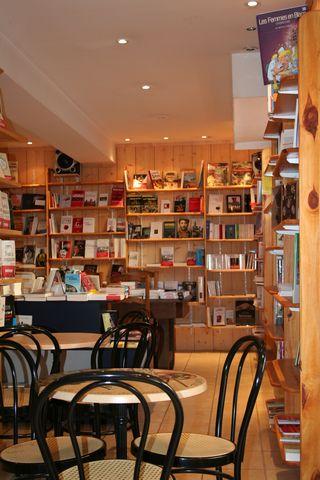 Espaces de libert librairie expression - Librairie salon de the ...